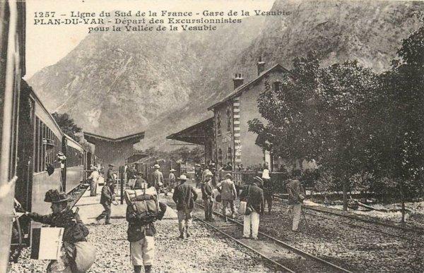 Chemins de Fer de Provence 7 - the line to St. Martin Vesubie. (3/6)