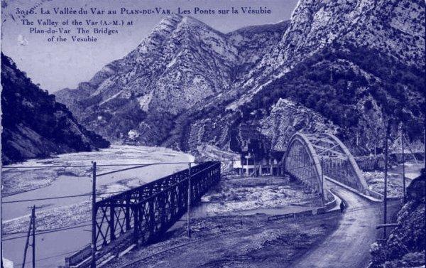 Chemins de Fer de Provence 7 - the line to St. Martin Vesubie. (4/6)