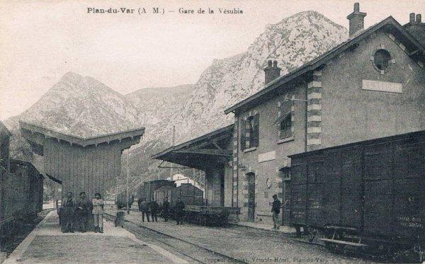 Chemins de Fer de Provence 7 - the line to St. Martin Vesubie. (5/6)