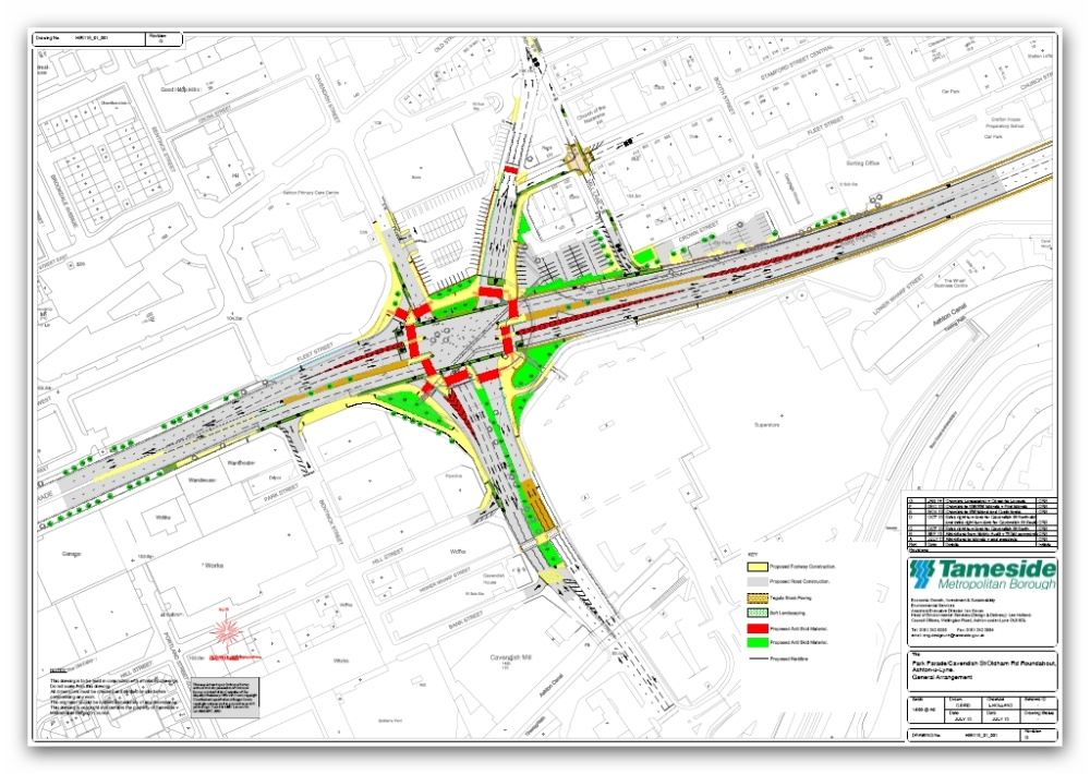 Ashton-under-Lyne Town Centre - Progress 5 (2/6)