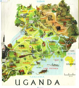 travel-map uganda
