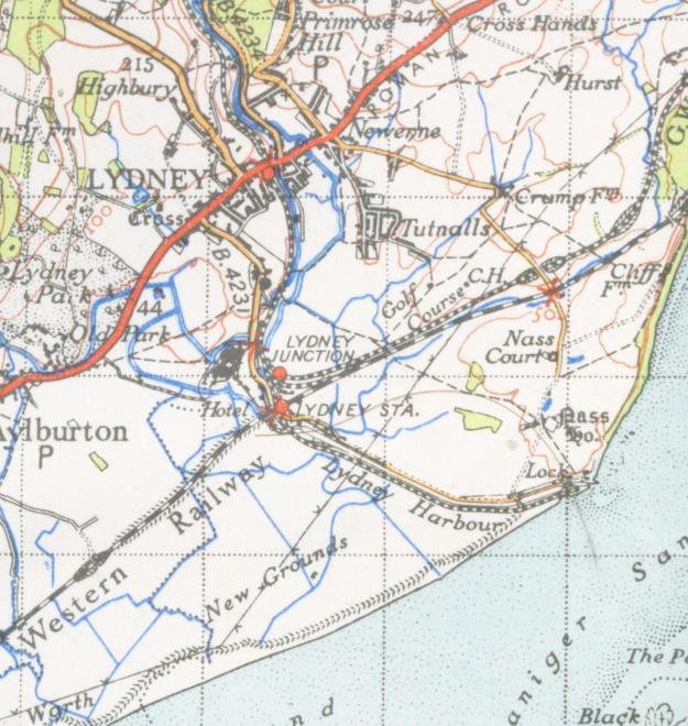 Lydney map 1946