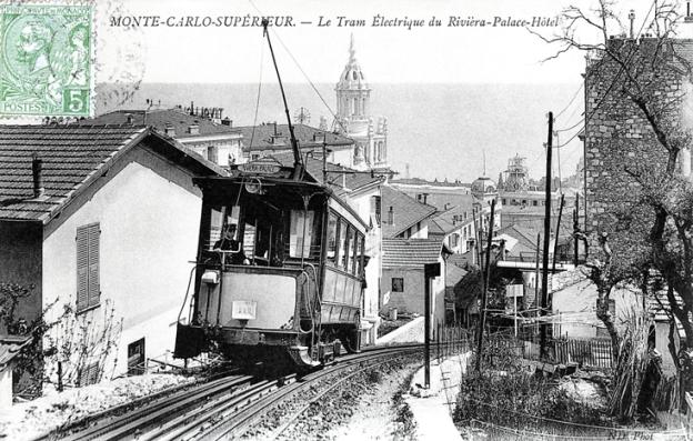 Chemin de fer à crémaillère de La Turbie 55-tram-riviera-palace-1903_1914