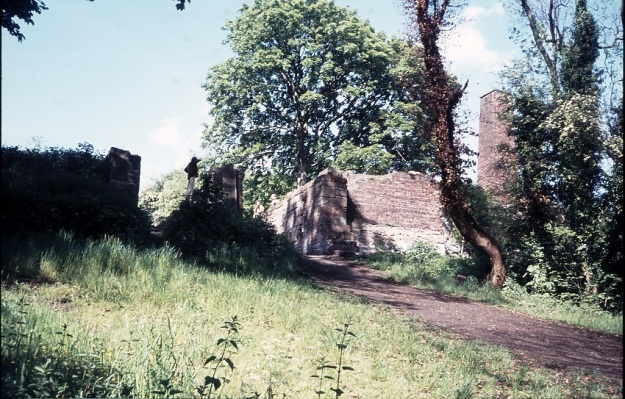 278-09 Old Shropshire Canal, The Hay Inclined Plane summit, 29-May-1974 Medium
