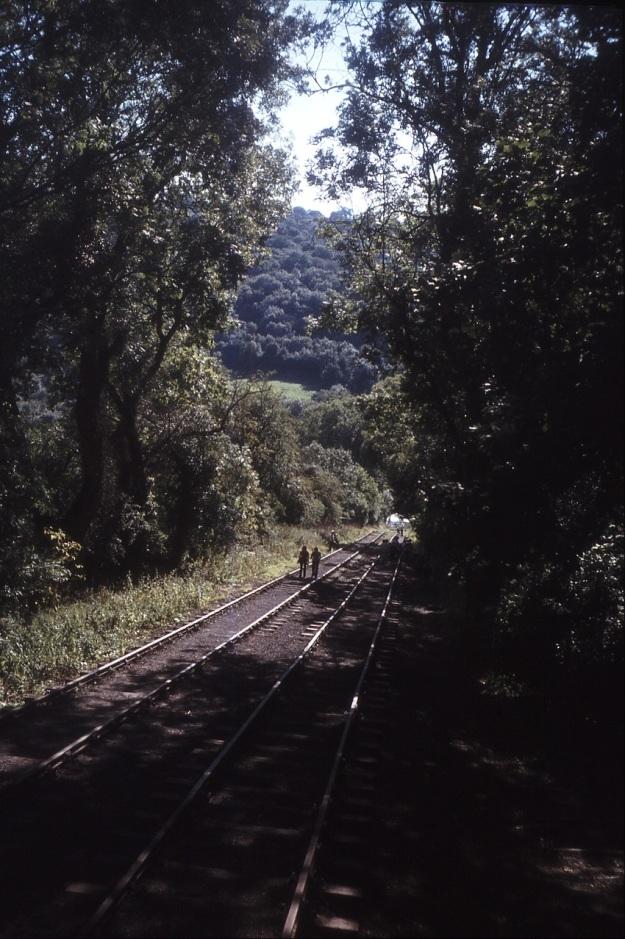 555-12 The Hay Inclined Plane, re-laid tracks, 16-Sep-1979 Medium