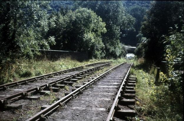 555-13 The Hay Inclined Plane, re-laid tracks, 16-Sep-1979 Medium